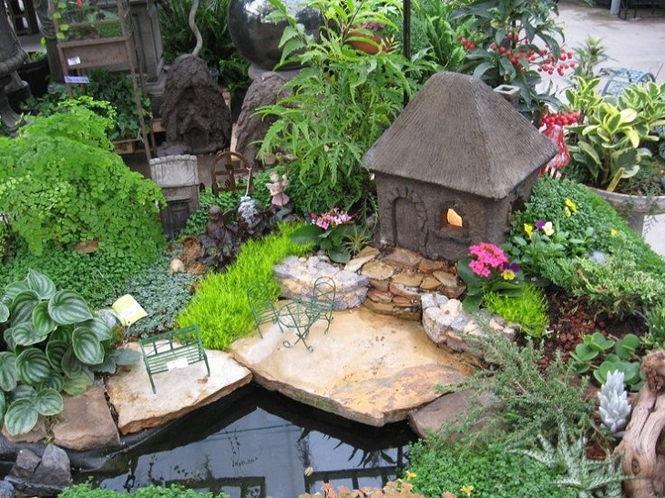 30 DIY Ideas How To Make Fairy Garden Architecture Design