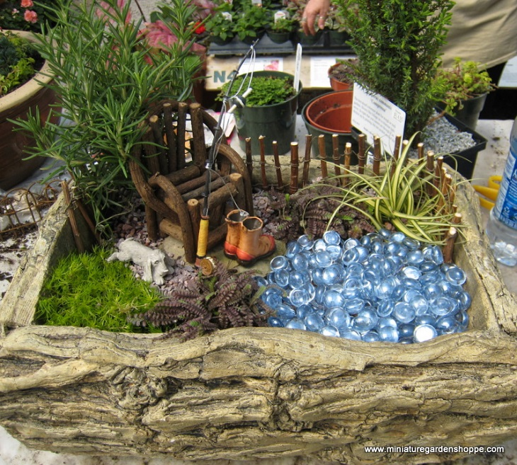 ad diy ideas how to make fairy garden