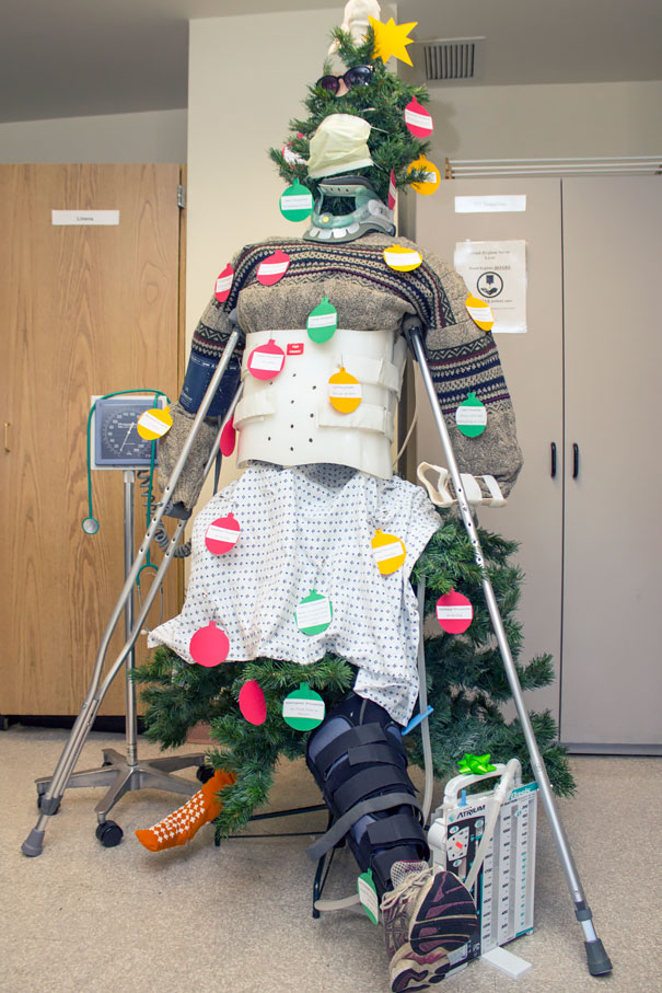 Hospital Christmas Decorations That Show Medical Staff Are The