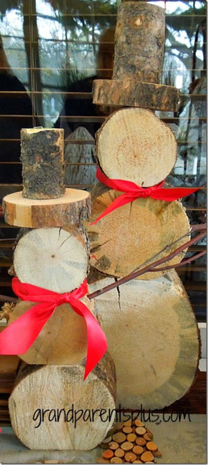 Ideas to decorate your home with recycled wood this christmas