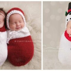 These 17 Newborns Wearing Knitted Christmas Outfits Will Fill Your Heart With Cheer