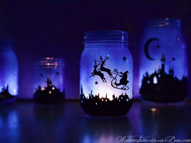 35 Magical Ways To Use Mason Jars This Christmas Architecture amp Design