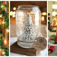 35+ Magical Ways To Use Mason Jars This Christmas