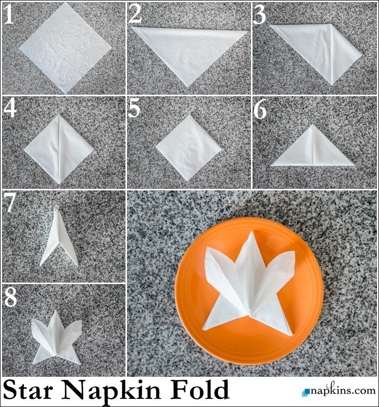 25 napkin folding techniques that will transform your dinner table ad napkin folding techniques that will transform your mightylinksfo