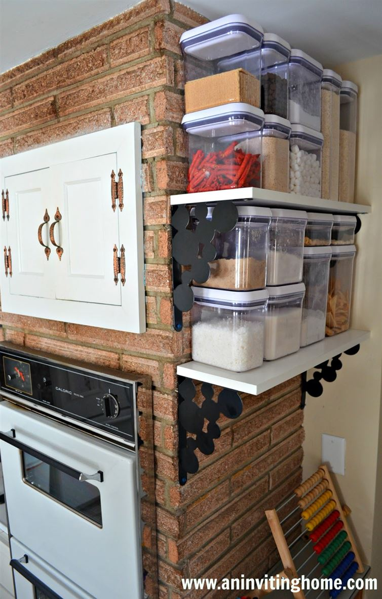AD Organization And Storage Hacks For Small Kitchens 19