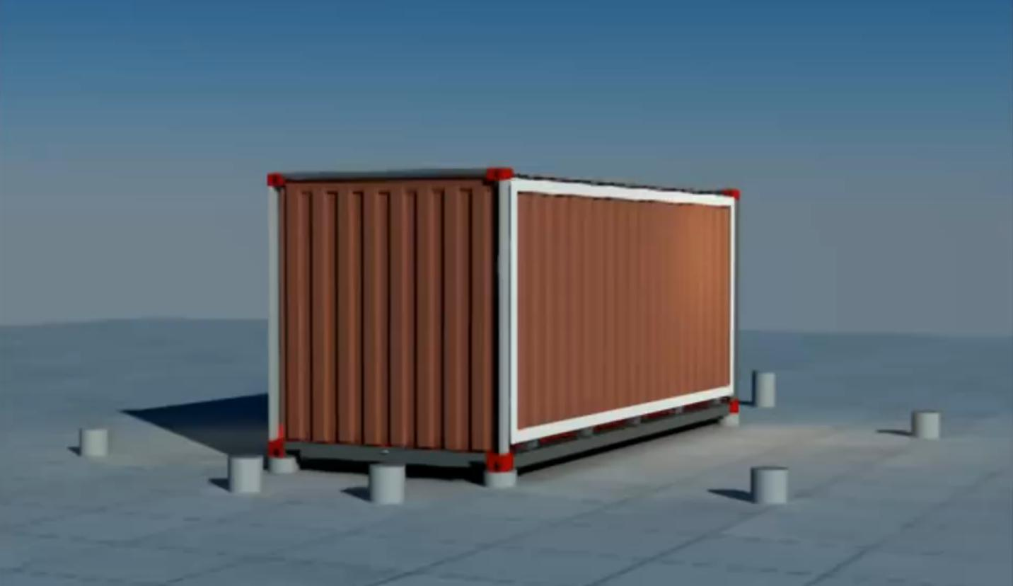 Containerhouse shipping container house that is expandable and comfortable