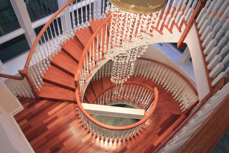 40 breathtaking spiral staircases to dream about having in for Curved staircase design plans