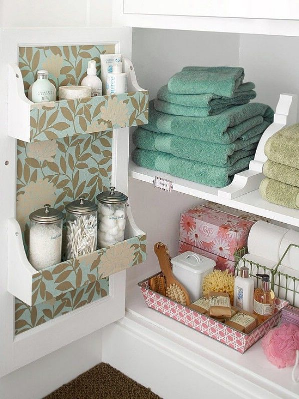 40 Brilliant Diy Storage And Organization Hacks For Small Bathrooms
