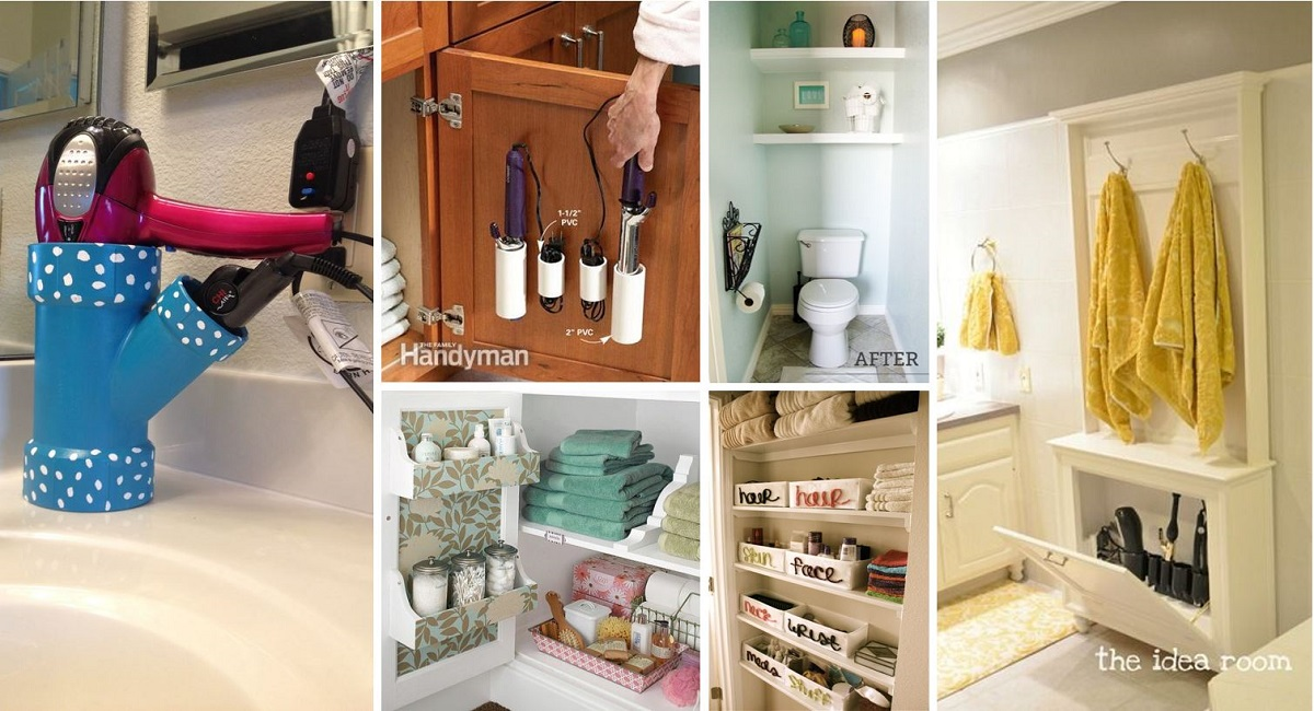 40 brilliant diy storage and organization hacks for small Small home organization