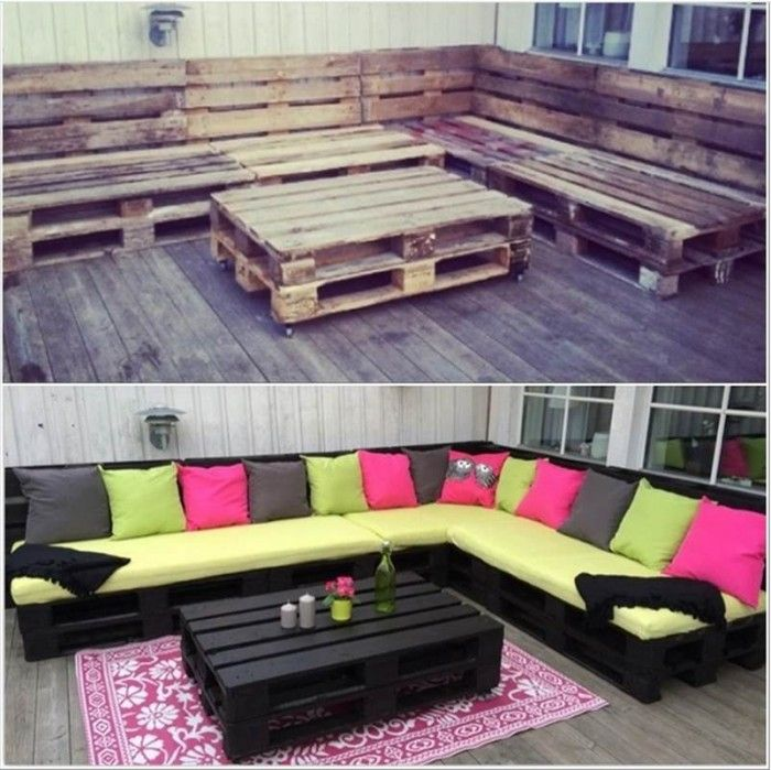 ad creative pallet furniture diy ideas and projects - Garden Ideas Using Pallets