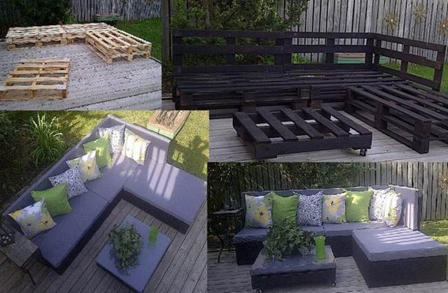 outdoor pallet furniture ideas. AD-Creative-Pallet-Furniture-DIY-Ideas-And-Projects- Outdoor Pallet Furniture Ideas A