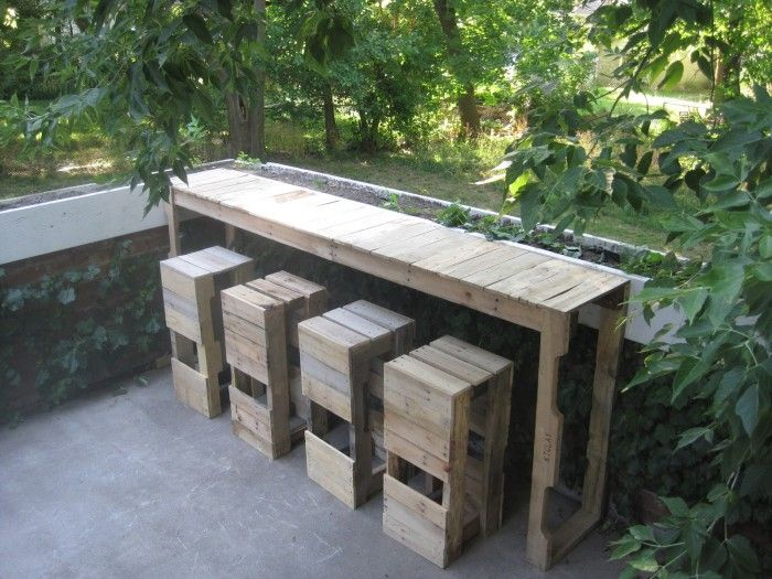 Outdoor Patio Furniture Made From Pallets 40+ creative pallet furniture diy ideas and projects