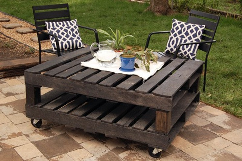 outdoor pallet furniture ideas. AD-Creative-Pallet-Furniture-DIY-Ideas-And-Projects- Outdoor Pallet Furniture Ideas I