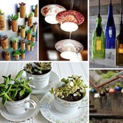 45+ Creative Ways To Repurpose Old Kitchen Stuff