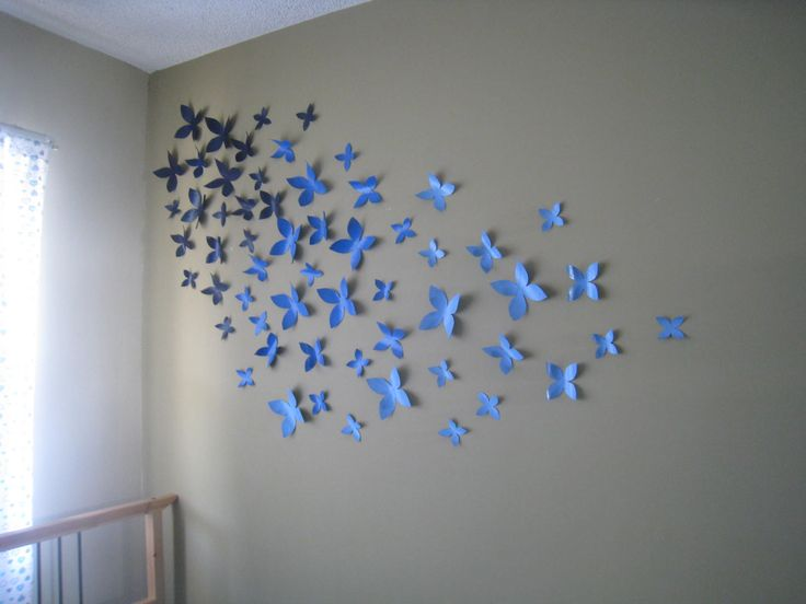50 extraordinary beautiful diy paper decoration ideas for Wall decoration ideas with photos