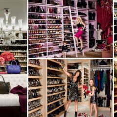 30 Celebrities Who Have Extravagant Closets, You'll Fall In Love With #24