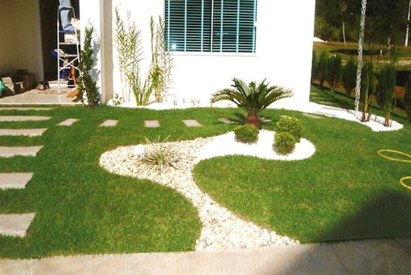 Garden Design Ideas With Pebbles on Backyard Pebbles Design id=55164