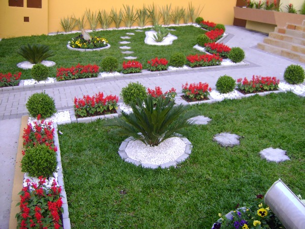 ad garden ideas with pebbles 20 - Garden Ideas Pictures