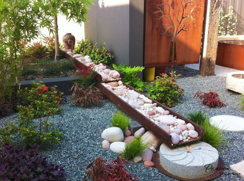 Garden Design Ideas With Pebbles on Backyard Pebbles Design id=77221