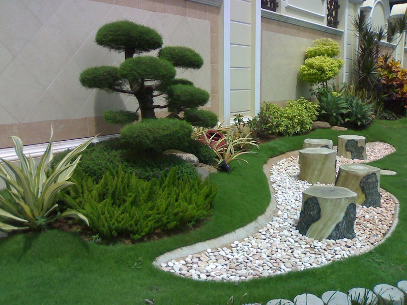 Charming AD Garden Ideas With Pebbles 24 Good Looking