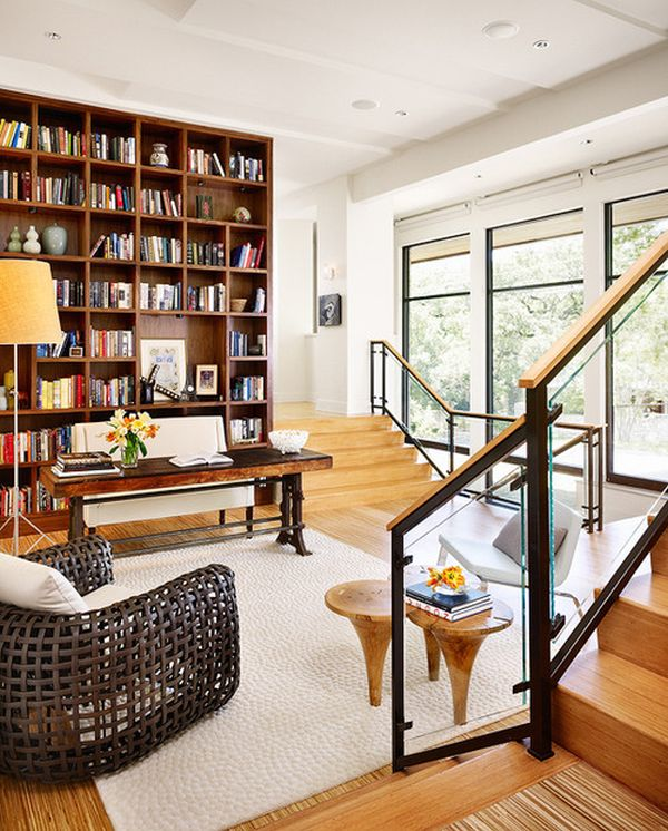 Modern Home Library Design Ideas: 60+ Home Library Design Ideas With Stunning Visual Effect