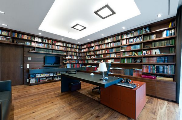 Good AD Home Library Design Ideas With Stunning Visual