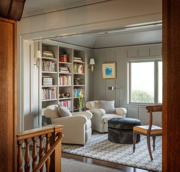 Charming AD Home Library Design Ideas With Stunning Visual  Part 28