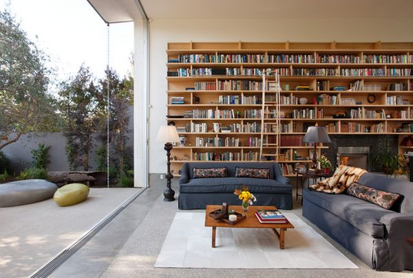 AD Home Library Design Ideas With Stunning Visual  Part 68