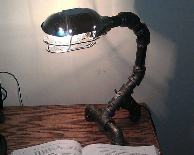 Ad Interesting Industrial Pipe Lamp Design Ideas on Light Fixture Parts