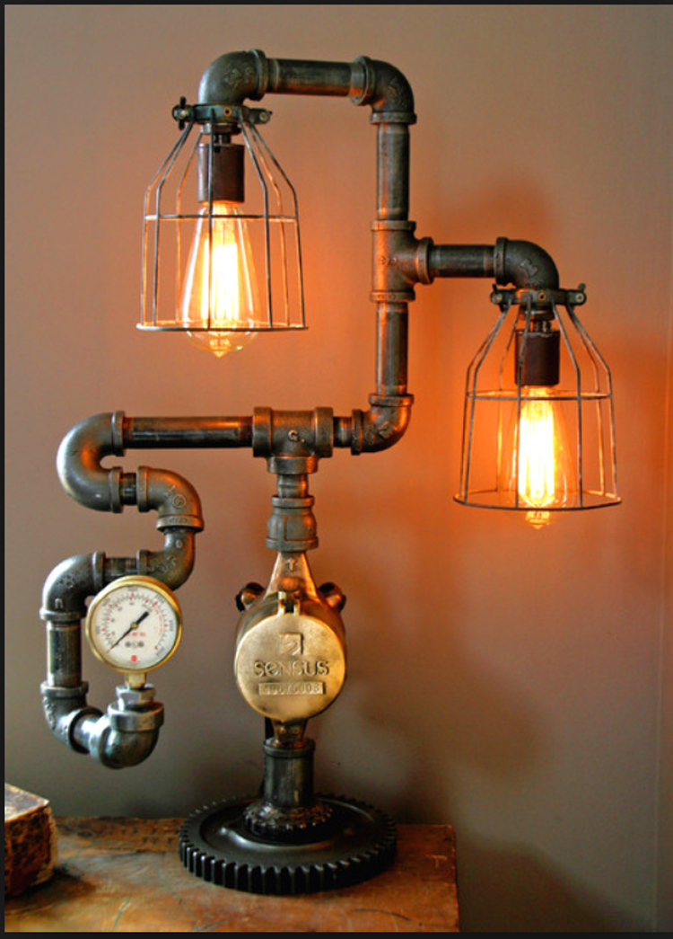 Ad interesting industrial pipe lamp design ideas 13