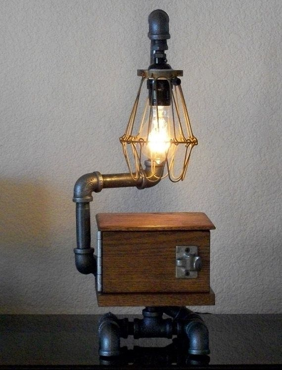 Interesting Table Lamps 20 interesting industrial pipe lamp design ideas