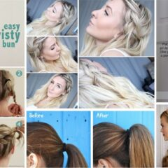 25+ Lazy Girl Hairstyling Hacks