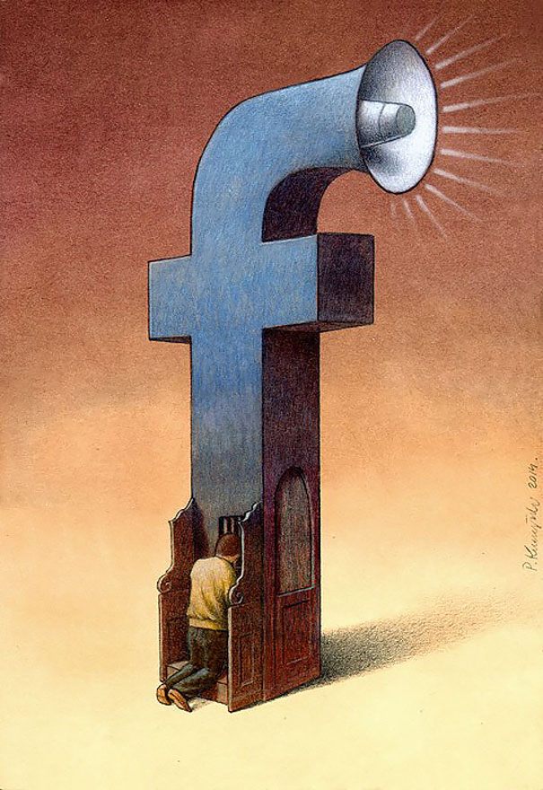 AD-Satirical-Illustrations-Show-Our-Addiction-To-Technology-19