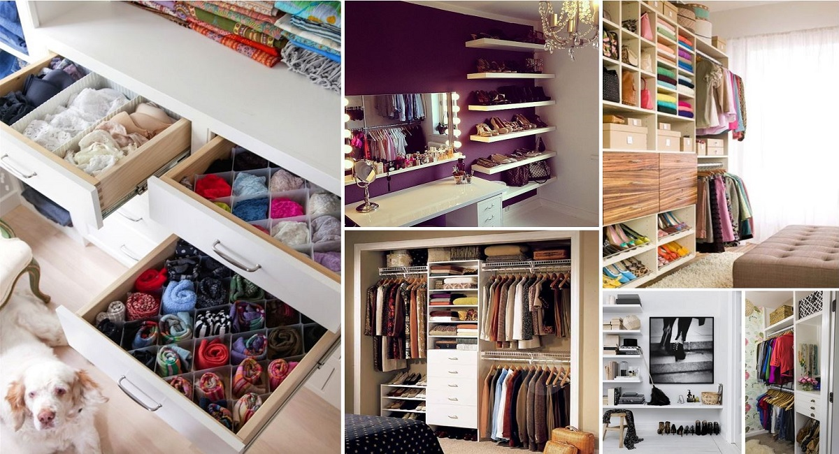 20 Storage Hacks That Will Help You Organize Your Closet