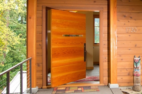 33 ultimate front door designs for Big main door designs