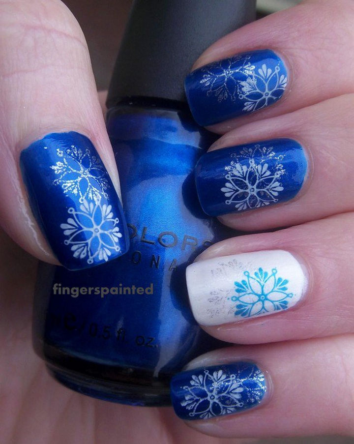 35 winter inspired nail designs that are as beautiful as freshly ad winter inspired nail designs 01 prinsesfo Gallery
