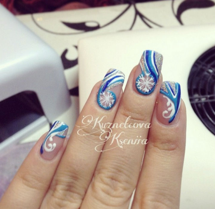 35 winter inspired nail designs that are as beautiful as freshly ad winter inspired nail designs 04 prinsesfo Gallery