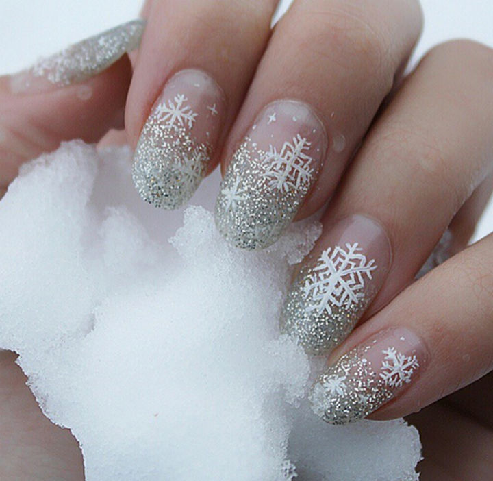 35 winter inspired nail designs that are as beautiful as freshly ad winter inspired nail designs 08 prinsesfo Gallery