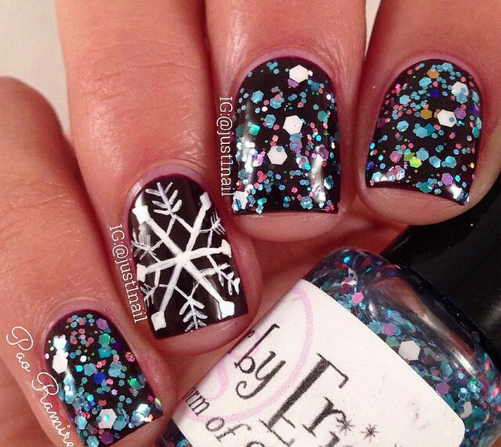 Winter Inspired Nail Designs That Are As Beautiful As Freshly Fallen