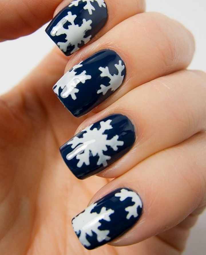 35 winter inspired nail designs that are as beautiful as freshly ad winter inspired nail designs 38 prinsesfo Gallery