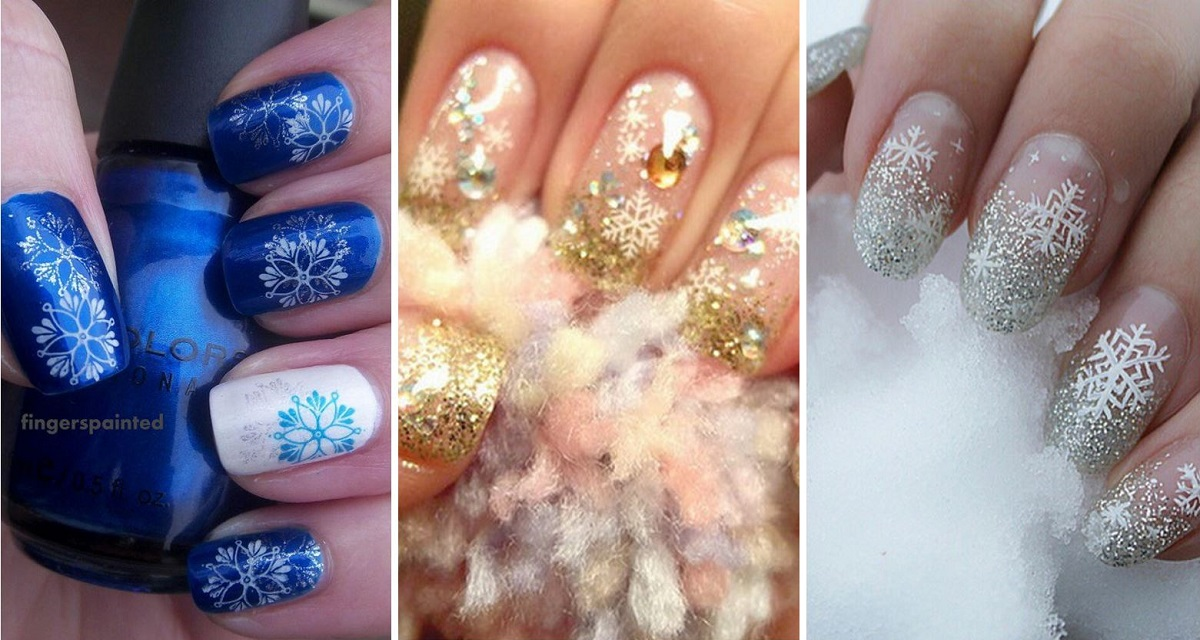 35 winter inspired nail designs that are as beautiful as freshly 35 winter inspired nail designs that are as beautiful as freshly fallen snow prinsesfo Images