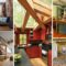 25+ Wonderful Ideas To Design Your Space With Exposed Wooden Beams