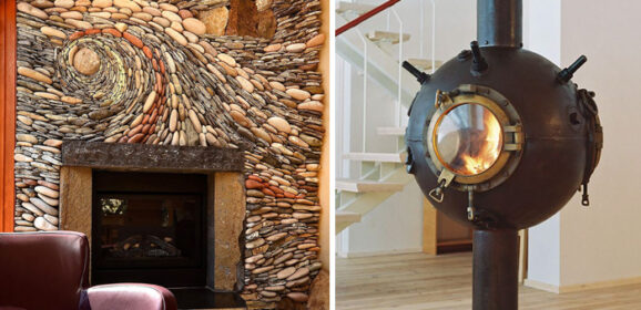 50+ Of The Coolest Fireplaces Ever
