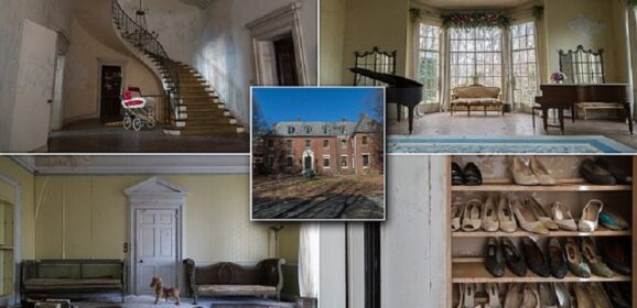 Mysteriously Abandoned In 1976, This Creepy Mansion Just Gave Up Its Secrets.