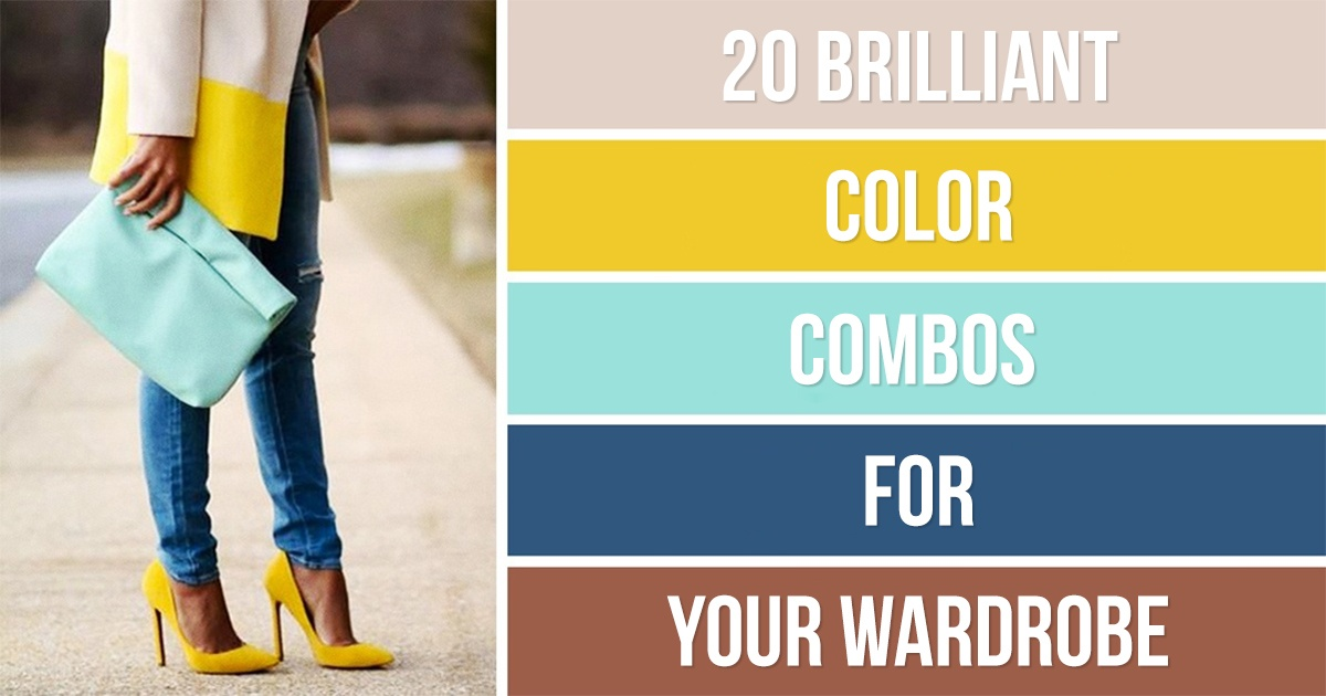20 Brilliant Color Combos For Your Wardrobe