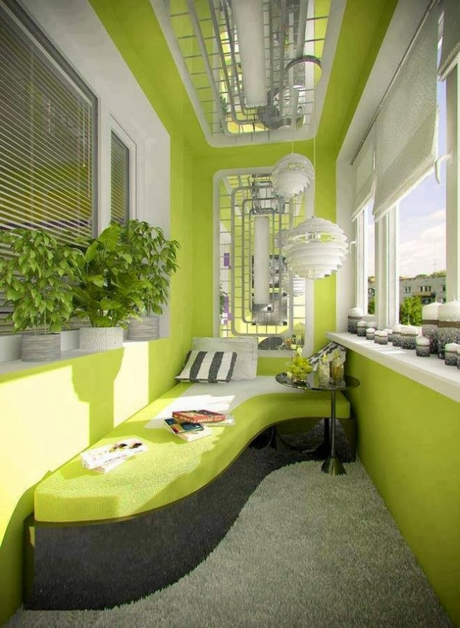 20 really cool ideas to make your balcony the best place for Cool apartment patio ideas