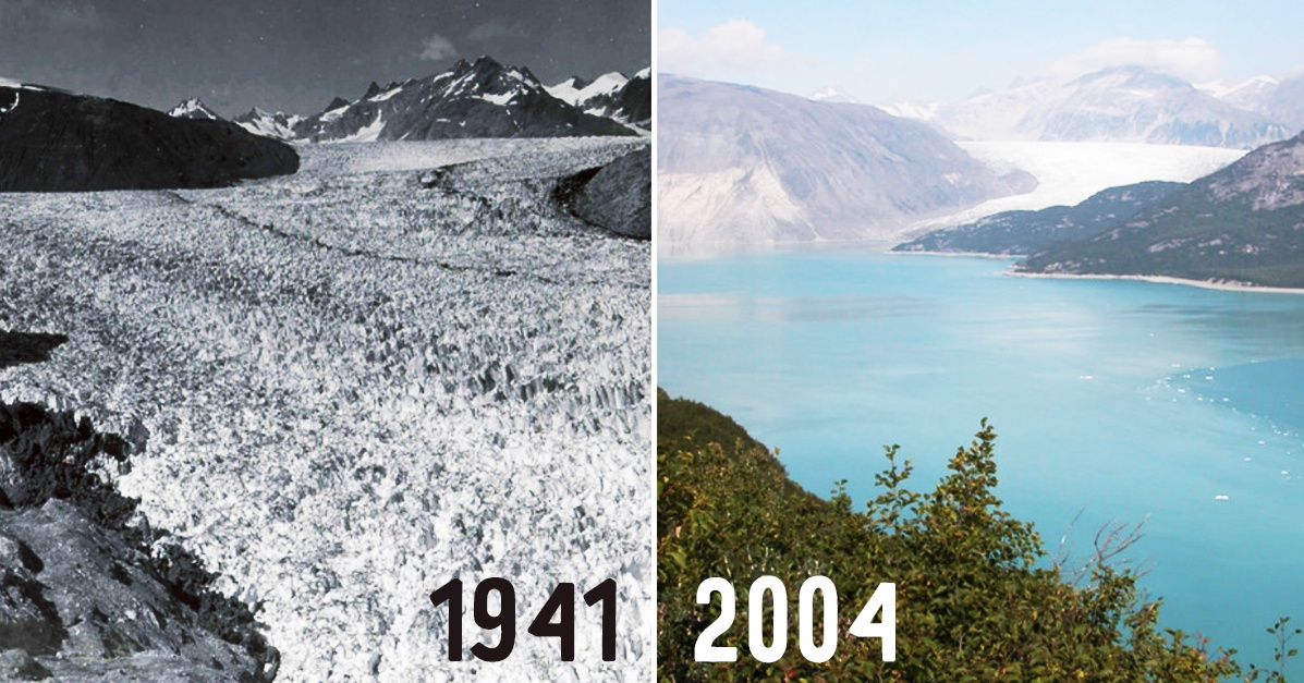 Earth Then And Now Dramatic Changes In Our Planet