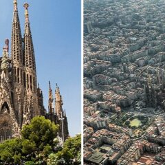 15 Famous Landmarks Zoomed Out To Show Their Surroundings