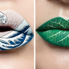Makeup Artist Turns Her Lips Into Stunning Works Of Art (30 Pics)