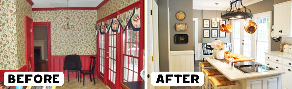 Home Makeovers 20 seriously impressive home makeovers